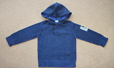 Monster Republic Dino Crossbones Hooded Pullover Navy