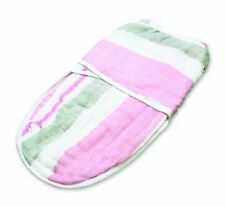 Aden and Anais for the birds- paintbrush stripe easy swaddle™  single
