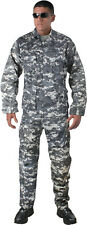 Subdued Urban Digital Camouflage Military BDU Cargo Fatigue Uniform