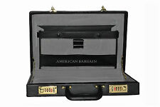 "New 15.5"" Hardside Briefcase Attache Case Portfolio Case with Combination Lock"