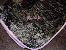 Personalized Girls Newborn Infant Baby Realtree APG HD Camo Camouflage Blanket