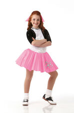 AT THE HOP Rock & Roll Poodle Skirt Dress Dance Costume Child Small NEW