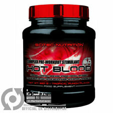 Scitec Nutrition HOT BLOOD 2.0 sachets, 300g, 820g Complex Pre-Workout Stimulant