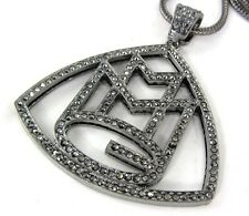 ICED MMG MAYBACH MUSIC GROUP RICK ROSS WALE MEEK MILL PENDANT NECKLACE CHAIN