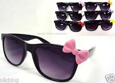 Hello Kitty Sunglasses Black Frame Assorted Bow Colors