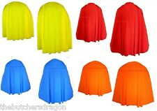 Boys Girls Children's TV/Book Week Childs Super Hero Cape/Capes Heroes