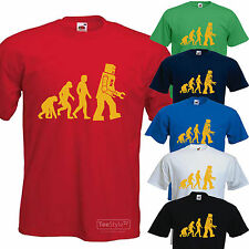 New Big Bang Theory Sheldon Cooper Evolution of Robot T-shirt funny All Sizes