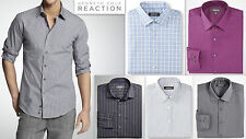 Mens KENNETH COLE Shirt REGULAR FIT Luxury PURE COTTON Wrinkle Free RRP $55