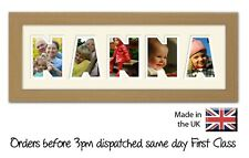 Nanna Personalised Photo Frame by Photos in a Word Gift for Nanna