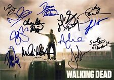 THE WALKING DEAD Season 2 Cast SIGNED x 13 Autographed PHOTO Print POSTER DVD 02