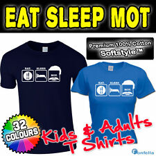 EAT SLEEP MOT T SHIRT motting lemon tshirt keith gift present funny slogan joke