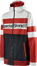 Special Blend Unit Ski Snowboard Jacket Markup Red