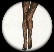 ***LIMITED EDITION*** Beautiful Elegant Lacy Vine Patterned Tights