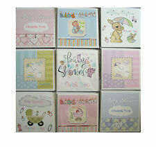 Thank You For The Baby Shower Gift Cards   multi pack