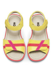 See Kai Run Girls Mayce Ray Yellow Sandals Summer 2013 NEW Size 11-3Y $52 NWT