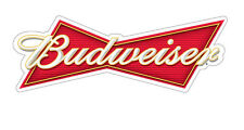 BUDWEISER Sticker Decal *DIFFERENT SIZES* Beer Bumper Window Bar Wall etc.