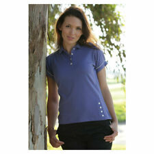 Glenmuir Ladies Glenmuir Collette Hi-Cool Jersey Golf Polo Shirt RRP £41.00