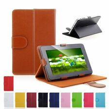 "Universal PU Leather Case Cover Protector F 7"" INCH Tablet Pad Android 4.0 4.1"