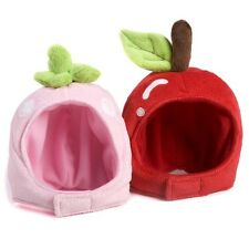 NEW Color Cute Funny Soft Fruit CAP Helmet Hat For Small Dog Puppy Cat kittens