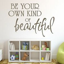 Beautiful Quote Women Girls Wall Sticker Design Art Decal Decoration Graphic Q43