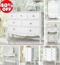 Shabby Chic Furniture, Bedside Table, Cabinet, Chest of Drawers, Dressing Table