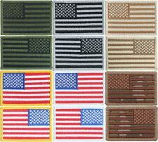 "USA Military American Flag Patch - Sew On/Iron On (2"" x 3"")"