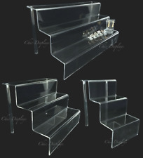 ACRYLIC RISERS JEWELRY RING DISPLAY RETAIL STORE DISPLAYS SHOWCASE STANDS <DEAL>