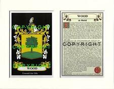 WOOD to YOUNG - Your Family Coat of Arms Crest & History