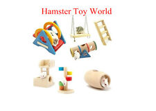 New hamster wood toys natural wooden ladder seesaw swing toy for hamster CHOOSE