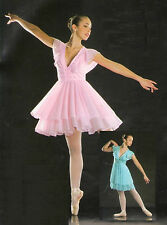 SYMPHONY Lyrical Dress Ballet Ice Skating PINK/BLUE Dance Costume Adult or Child