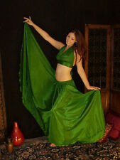 We3 Belly Dance Tribal Gypsy Pirate Princess Witch 8 Yard  Skirt IN STOCK
