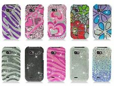 For LG myTouch Q 4G C800 Maxx Qwerty Eclypse Cover Bling Diamond Hard Case