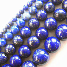 W37 Wholesale Lapis Lazuli Round Loose Bead 15.5 inch,4,6,8,10,12mm