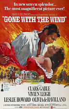 GONE WITH THE WIND 03 (CLARKE GABLE) MINI FILM POSTER PRINT