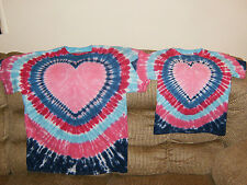 Custom special order matching design tie dye T-shirts
