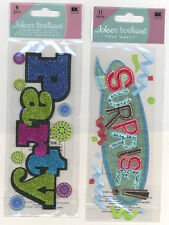 U CHOOSE  Jolee's PARTY TITLE SURPRISE TITLE glitter 3D Stickers birthday