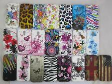 Flower Butterfly Soft TPU Silicion Case Cover For Samsung Galaxy S4 Mini i9190