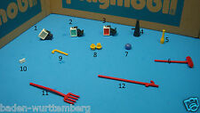 Playmobil 4230 Circus Lights Megaphone BottleHand Clip Cane Ball Point Tools 118
