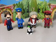 POSTMAN PAT ARTICULATED SERIES ONE FIGURES TED GLEN PAT JESS GOGGINS AJ  NEW