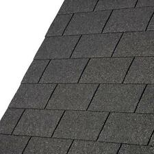 3m² Square Bitumen/Felt Roof Shingles in Black, Green and Red
