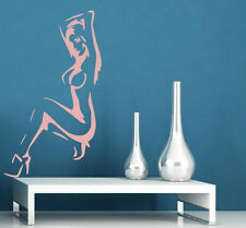 Sexy Naked Lady Silhouette Vinyl Art Decal & Wall Sticker. New! 60cm x 100cm