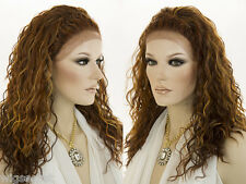Long Medium Lace Front Wavy Curly Blonde Brunette Red Wigs Braids