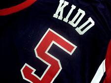 JASON KIDD #5 TEAM USA JERSEY NEW NAVY BLUE - ALL SIZES
