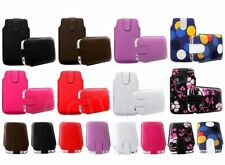 M- SECURED POUCH CASE COVER HOLSTER SHELL fOr NOKiA ASHA VARiOUS PHONE MODELS