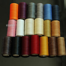 284YRD LEATHER SEWING WAXED THREAD 1MM FOR CHISEL AWL UPHOLSTERY SHOES LUGGAGE