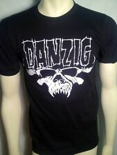 AUTHENTIC DANZIG THE MISFITS SKULL & LOGO PUNK ROCK TRIBAL T SHIRT S M L XL 2XL