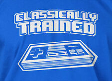 Classically Trained Video Game Console Shirt Mens Ladies Tee Funny Geek T-shirt