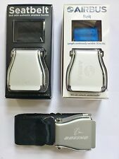 Airline seat belt adapted to wear with your trousers. Mens, women belt UK SELLER