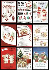 Quality ~ Christmas Cards ~ SOMETHING FOR EVERYONE ~ ONLY 99p Each