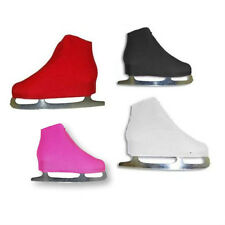 New A&R FIGURE ICE SKATE Nylon Lycra Boot Covers Skate OSFM Red White. Blk. Pink